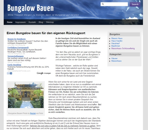 Fertighaus, Plusenergiehaus @ Hausbau-Seite.de | BungalowBauen.org