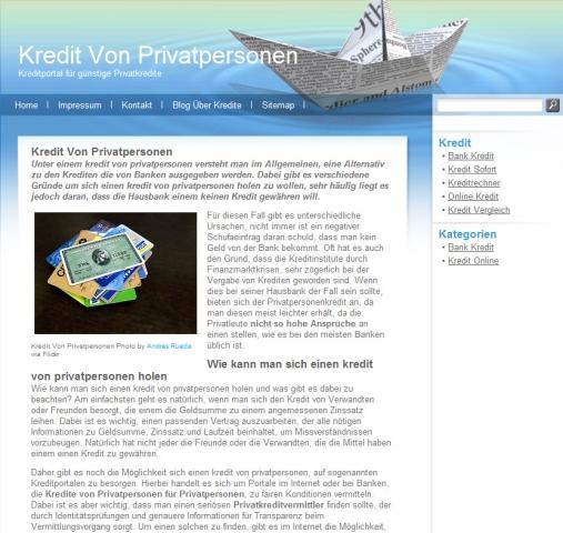 Versicherungen News & Infos | KreditVonPrivatpersonen.net