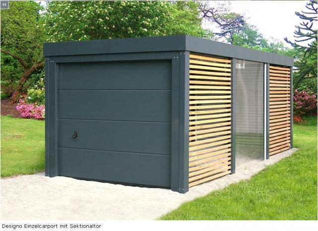 Designo-Carport MC-Garagen