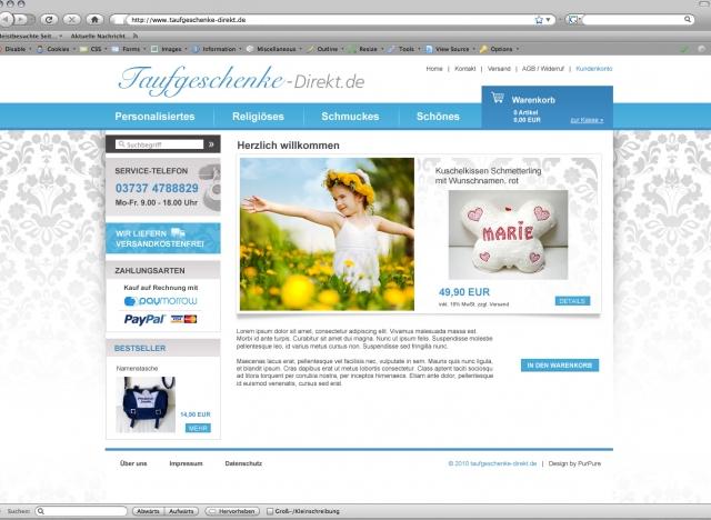 Shopping -News.de - Shopping Infos & Shopping Tipps | Taufgeschenke Direkt