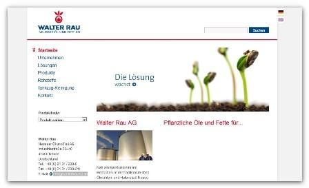 Berlin-News.NET - Berlin Infos & Berlin Tipps | Walter Rau Neusser Öl und Fett AG