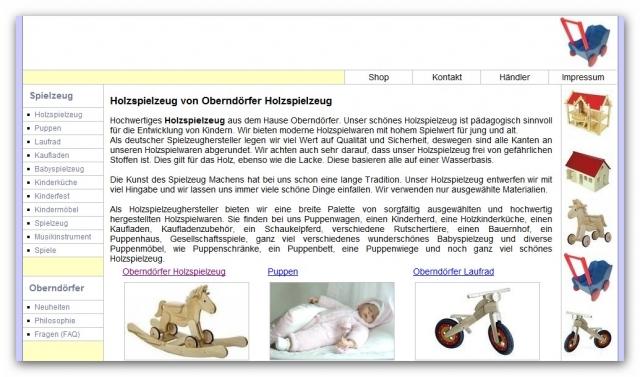 Shopping -News.de - Shopping Infos & Shopping Tipps | Oberndörfer Holzspielzeug