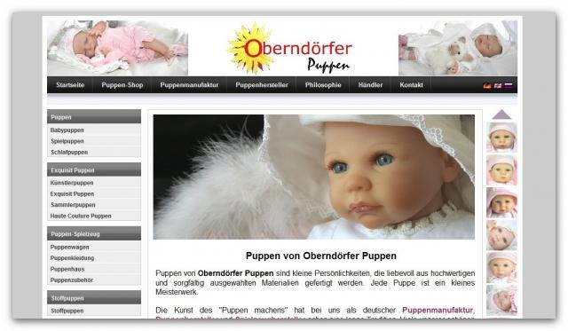 Babies & Kids @ Baby-Portal-123.de | Oberndörfer Puppen