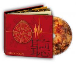 Ost Nachrichten & Osten News | Foto: Hörbuch-Cover >> China hören <<, Grafik: Roswitha Rösch, Silberfuchs-Verlag.