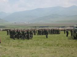 Ost Nachrichten & Osten News | Foto: Sondermilitäreinheiten in Ngaba.