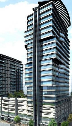 Ost Nachrichten & Osten News | Foto: Das neue imposante Projekt mit Büro- und Wohnturm.