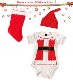 Einkauf-Shopping.de - Shopping Infos & Shopping Tipps | Baby - Portal: Babies & Kids - Foto: Weihnachts Mini Santa Baby Geschenk Set.