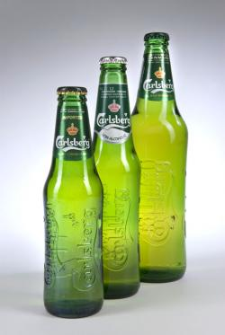 Bier-Homepage.de - Rund um's Thema Bier: Biere, Hopfen, Reinheitsgebot, Brauereien. | Foto: Carlsbergs neue Kult-Flasche >> Club <<.