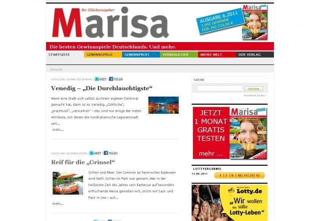 Nordrhein-Westfalen-Info.Net - Nordrhein-Westfalen Infos & Nordrhein-Westfalen Tipps | Marisa Verlagsgesellschaft mbH