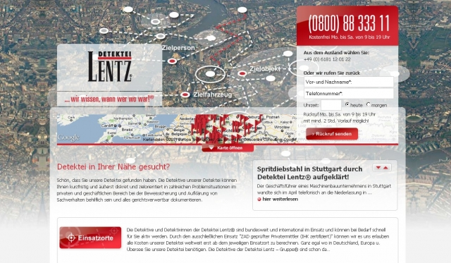 Amerika News & Amerika Infos & Amerika Tipps | Lentz GmbH & Co. Detektive KG