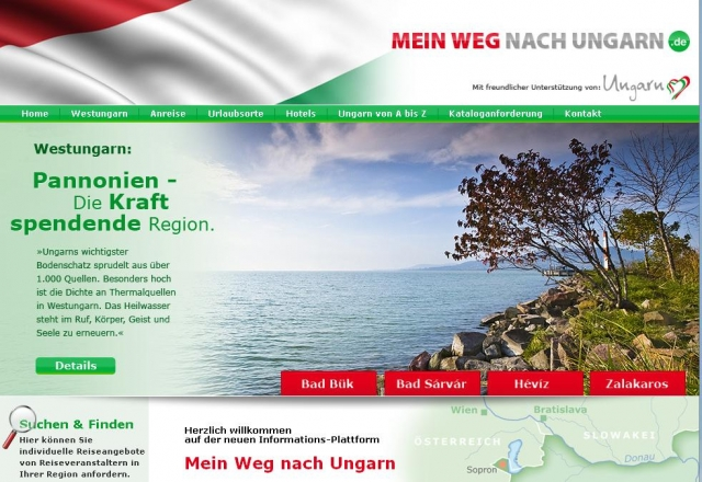 Oesterreicht-News-247.de - Österreich Infos & Österreich Tipps | Westungarische Bäderstraße