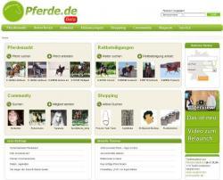 Landwirtschaft News & Agrarwirtschaft News @ Agrar-Center.de | Foto: Neuer Online-Auftritt des Pferdeportals www.pferde.de.