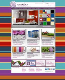 Freie Software, Freie Files @ Freier-Content.de | Open Source Shop News - Foto: Startseite des neuen monofakturShops.