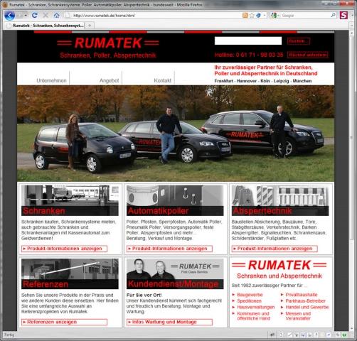 Berlin-News.NET - Berlin Infos & Berlin Tipps | Rumatek GmbH Schranken, Poller, Absperrtechnik