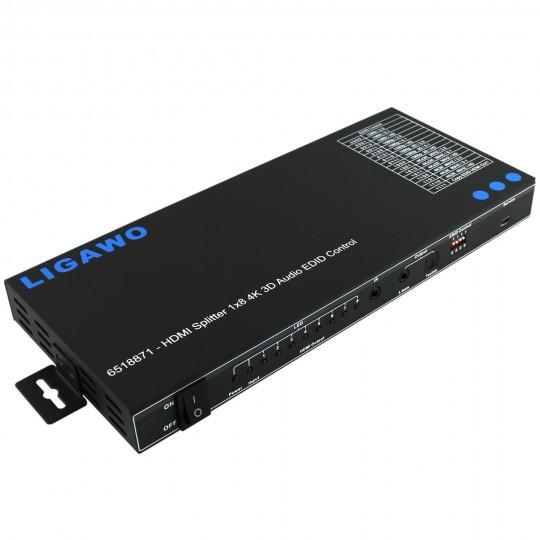 Ligawo 6518871 HDMI Splitter 1x8  | Freie-Pressemitteilungen.de