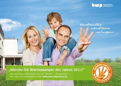 Alternative & Erneuerbare Energien News: Bundesverband Wärmepumpe e.V. /  Pressestelle Kampagne