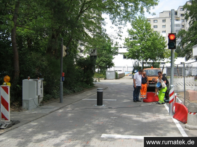 Rumatek GmbH Schranken, Poller, Absperrtechnik