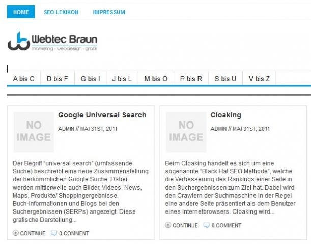 CMS & Blog Infos & CMS & Blog Tipps @ CMS & Blog-News-24/7.de | WebTec Braun