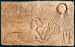 Historisches @ Historiker-News.de | Foto: Echnaton als Sphinx, Museum August Kestner.