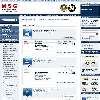 Shopping -News.de - Shopping Infos & Shopping Tipps | MSG Medizinische Geräte, Handel und Service Gesellschaft mbH