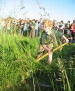 Landwirtschaft News & Agrarwirtschaft News @ Agrar-Center.de | Foto: Nicht nur die >> alten << Hasen zeigen was sie können. Auch der Nachwuchs geht in Salbitz mit an den Start.