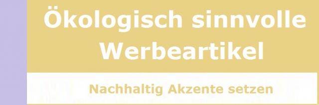 BIO @ Bio-News-Net | Ökologisch sinnvolle Werbeartikel