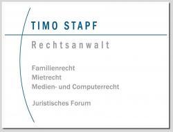 Recht News & Recht Infos @ RechtsPortal-14/7.de | Foto: Rechtsanwalt Stapf ist seit Jahren als Anwalt vornehmlich auf dem Gebiet des Familienrechts tätig.