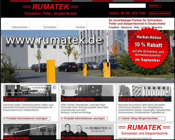 Technik-247.de - Technik Infos & Technik Tipps | Rumatek GmbH Schranken, Poller, Absperrtechnik
