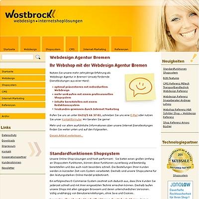 Shopping -News.de - Shopping Infos & Shopping Tipps | Wostbrock Webdesign Internetshoplösungen