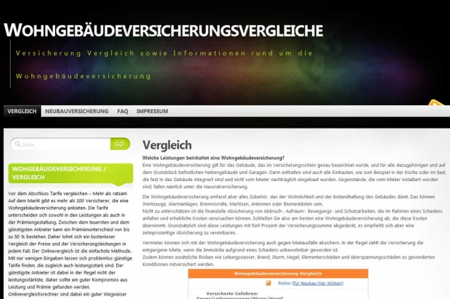 Versicherungen News & Infos | Wohngebäudeversicherungsvergleiche.de