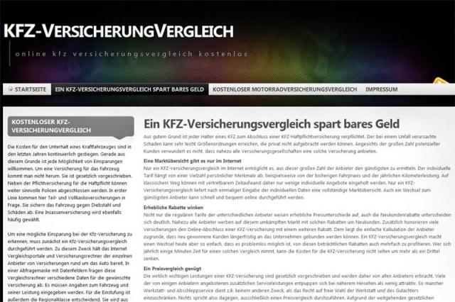Versicherungen News & Infos | Betrieb von Internetplattformen