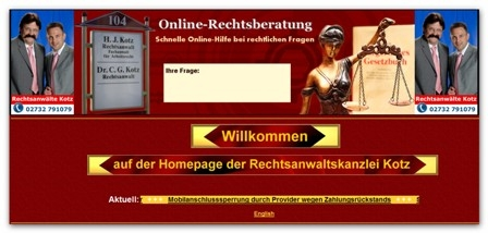CMS & Blog Infos & CMS & Blog Tipps @ CMS & Blog-News-24/7.de | Rechtsanwaltskanzlei Kotz