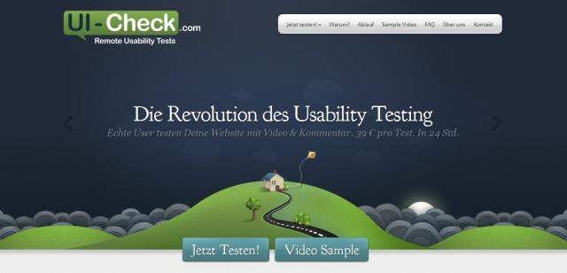 Berlin-News.NET - Berlin Infos & Berlin Tipps | UI-Check.com - Usability Tests in 24 Stunden