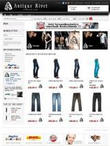 Open Source Shop Systeme | Open Source Shop News - Foto: Endverbraucher finden eine große Auswahl an Premium-Jeans unter www.antique-rivet.com.