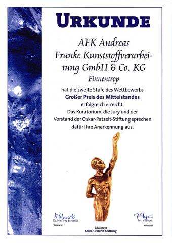Auto News | AFK Andreas Franke Kunststoffverarbeitung GmbH & Co. KG