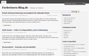 Versicherungen News & Infos | Fachwissen-Blog.de