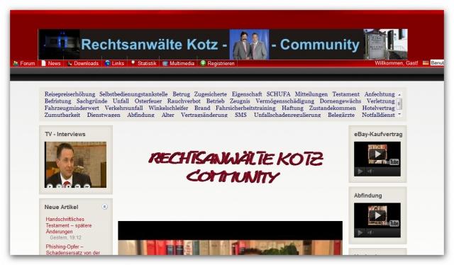 Sport-News-123.de | Rechtsanwälte Kotz GbR - Rechtsanwaltskanzlei Kotz