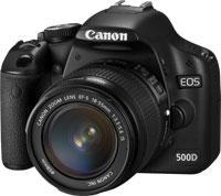 Einkauf-Shopping.de - Shopping Infos & Shopping Tipps | Foto: Digitale Spiegelreflexkamera mit Full-HD - Canon EOS 500D.