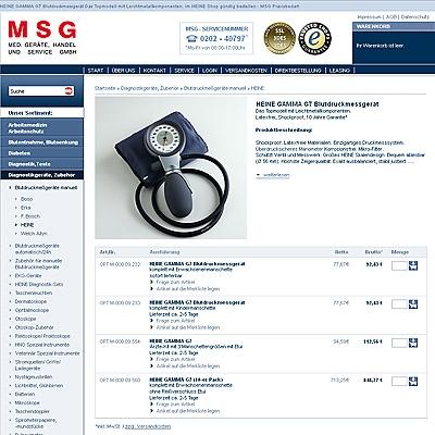 Einkauf-Shopping.de - Shopping Infos & Shopping Tipps | MSG Medizinische Geräte, Handel und Service Gesellschaft mbH