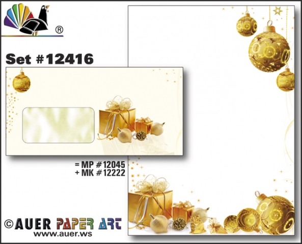 Babies & Kids @ Baby-Portal-123.de | Auer Paper Art Weihnachtskarten Weihnachtsbriefpapier