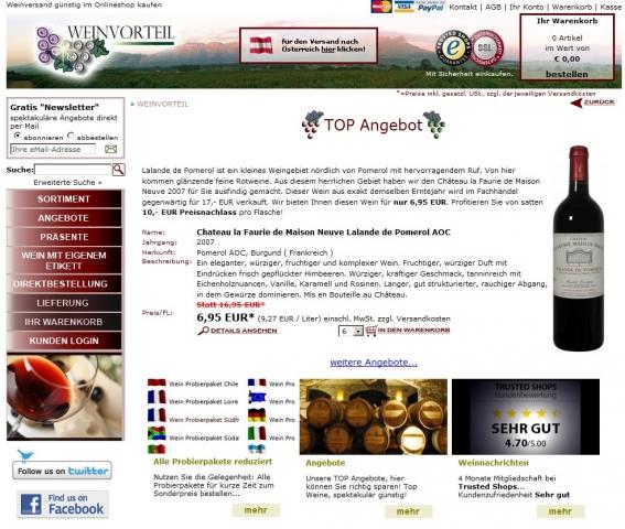Europa-247.de - Europa Infos & Europa Tipps | Weinvorteil W.I.E. GmbH