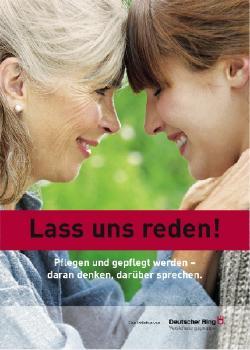 SeniorInnen News & Infos @ Senioren-Page.de | Foto: Die Broschüre >> Lass uns reden! << kann unter www.Generationenstudie.de kostenfrei bestellt werden.