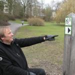 SeniorInnen News & Infos @ Senioren-Page.de | Foto: Rollstuhlfahrer Uwe Brechbühler, hier im Kurpark Bad Salzuflen, unterstützt das Projekt.