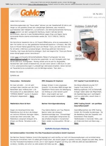 New-York-News.de - New York Infos & New York Tipps | Goldman Morgenstern & Partners llc