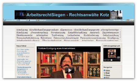CMS & Blog Infos & CMS & Blog Tipps @ CMS & Blog-News-24/7.de | Rechtsanwälte Kotz GbR - Rechtsanwaltskanzlei Kotz