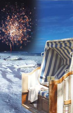 Chat News & Chat Infos @ Chats-Central.de | Ost Nachrichten / Osten News - Foto: Gemütlichkeit im Strandkorb, Musik, Feuerwerk und mehr beim Strandkorbsilvester im Ostseebad Göhren auf Rügen.