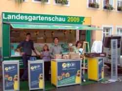 Ost Nachrichten & Osten News | Foto: Informationen über die Landesgartenschau 2009 in Reichenbach / Vogtland zum Tag der Sachsen 2008 in Grimma.