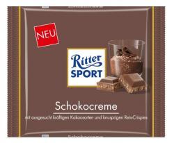 Neue Produkte @ Produkt-Neuheiten.Info | Foto: Die neue 250 Gramm Tafel >> Schokocreme >> von Ritter Sport.