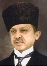 Ost Nachrichten & Osten News | Foto: Erdogan als neuer türkischer Staatspräsident (aus dem Buch: Erdogan - ein Meister der Täuschung).