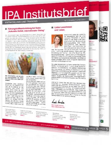 Auto News | IPA Institut für Personalentwicklung und Arbeitsorganisation